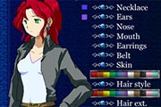 Anime Character Generator (female version)