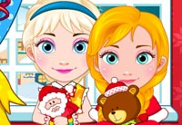 Anna And Elsa Babies Christmas Shopping