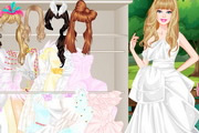 Barbie White Swan Bride