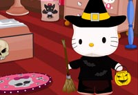 Hello Kitty Halloween Room Decor